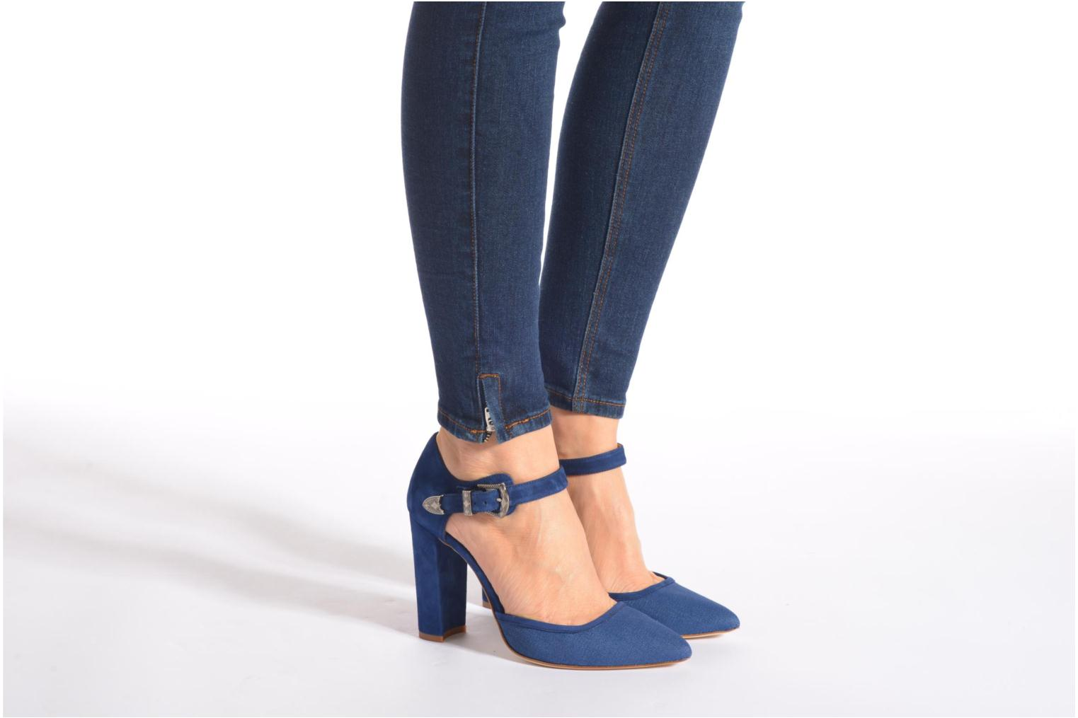 Western Fever #4 Jeans prin + Ante indico