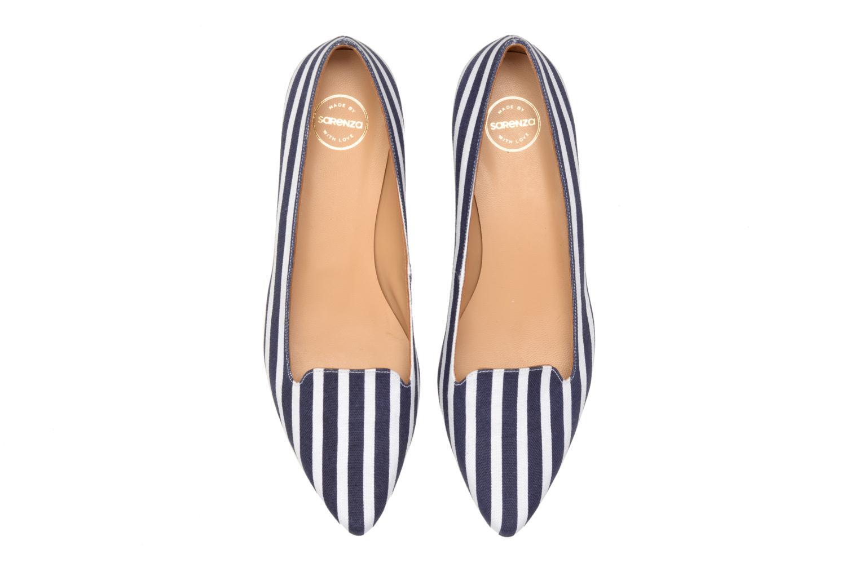 Mocassins Made by SARENZA Menthe Hello #5 Bleu vue portées chaussures