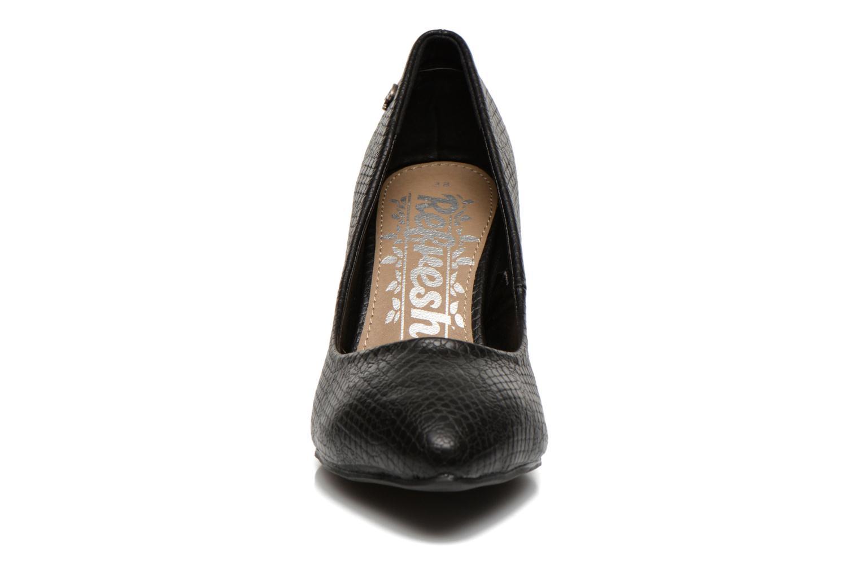 Escarpins Refresh Auregan Noir vue portées chaussures