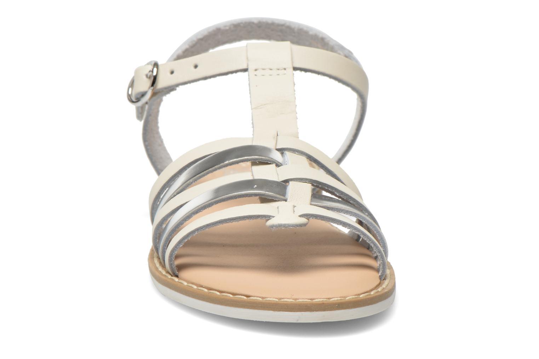 Sandals I Love Shoes Dobrides White model view
