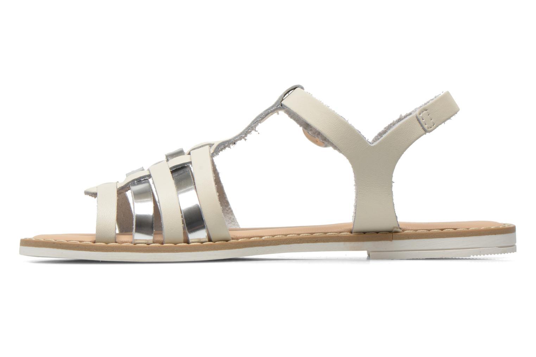 Sandalen I Love Shoes Dobrides weiß ansicht von vorne