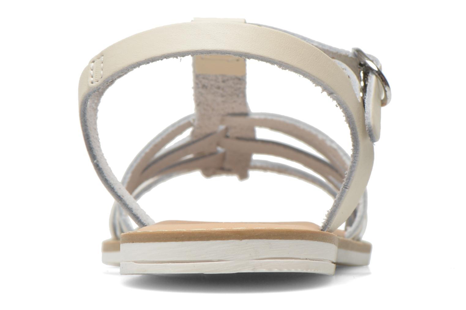 Sandals I Love Shoes Dobrides White view from the right