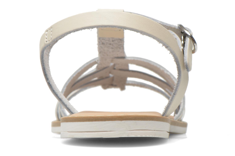 Sandalen I Love Shoes Dobrides weiß ansicht von rechts