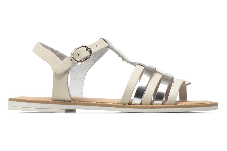 Sandalen I Love Shoes Dobrides weiß ansicht von hinten