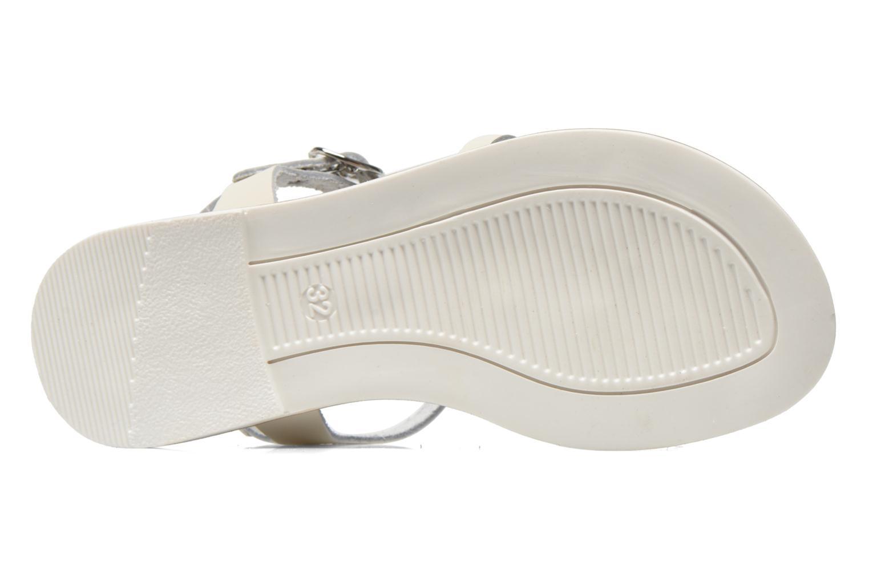 Sandales et nu-pieds I Love Shoes Dobrides Blanc vue haut