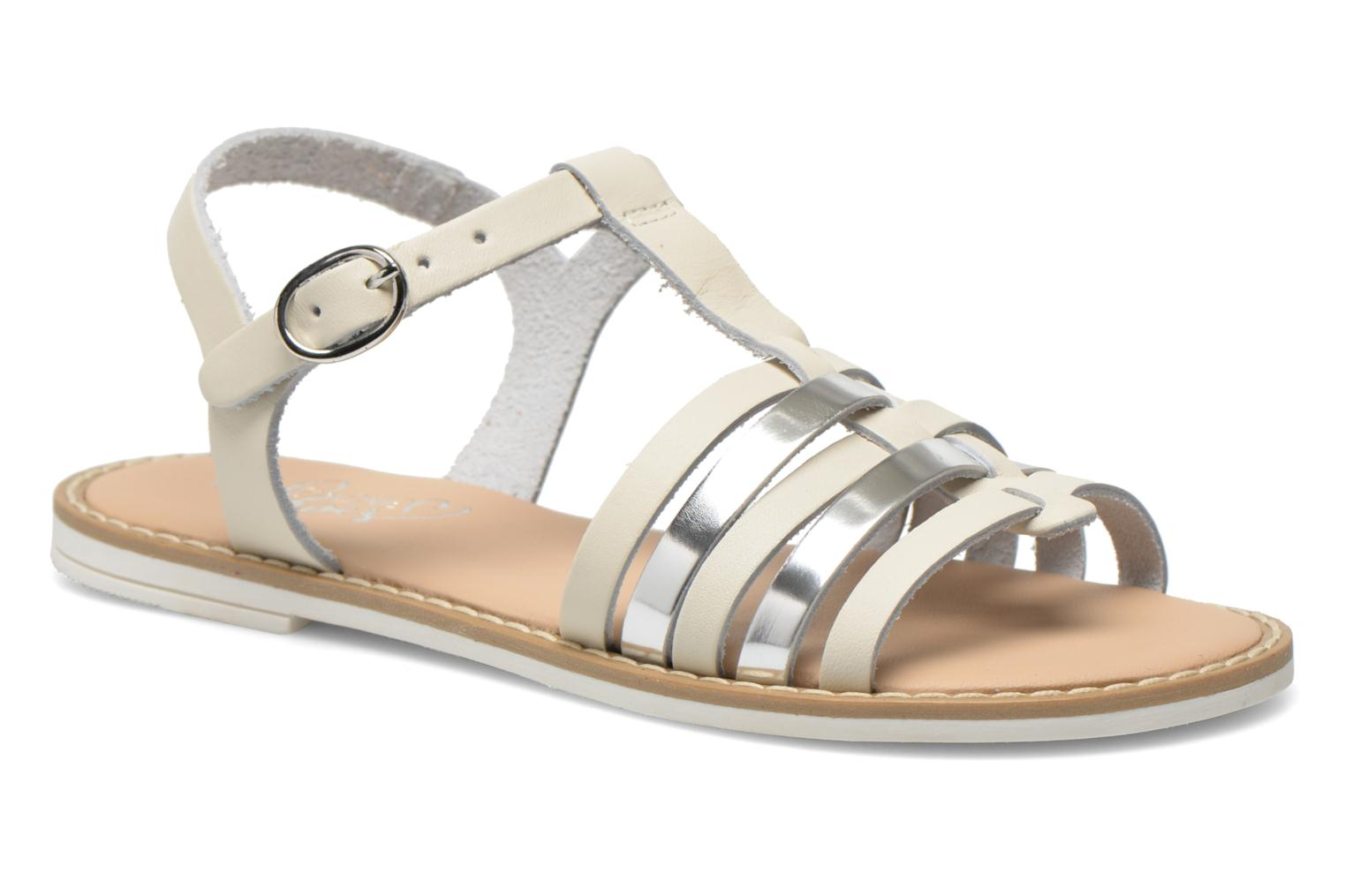 Sandals I Love Shoes Dobrides White detailed view/ Pair view