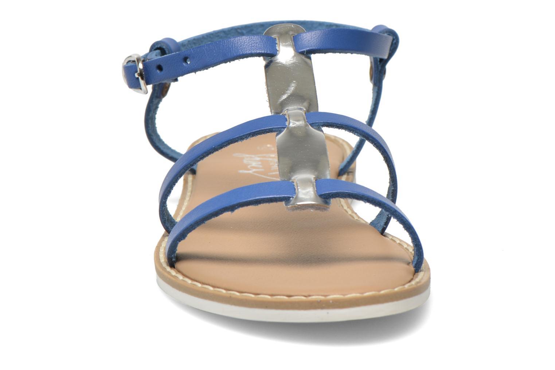 Sandales et nu-pieds I Love Shoes Dolsa Bleu vue portées chaussures