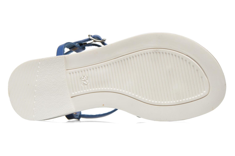 Sandales et nu-pieds I Love Shoes Dolsa Bleu vue haut