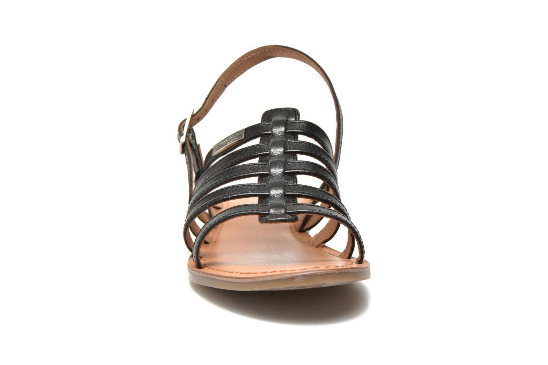 Sandalen Les Tropéziennes par M Belarbi Havapo schwarz schuhe getragen
