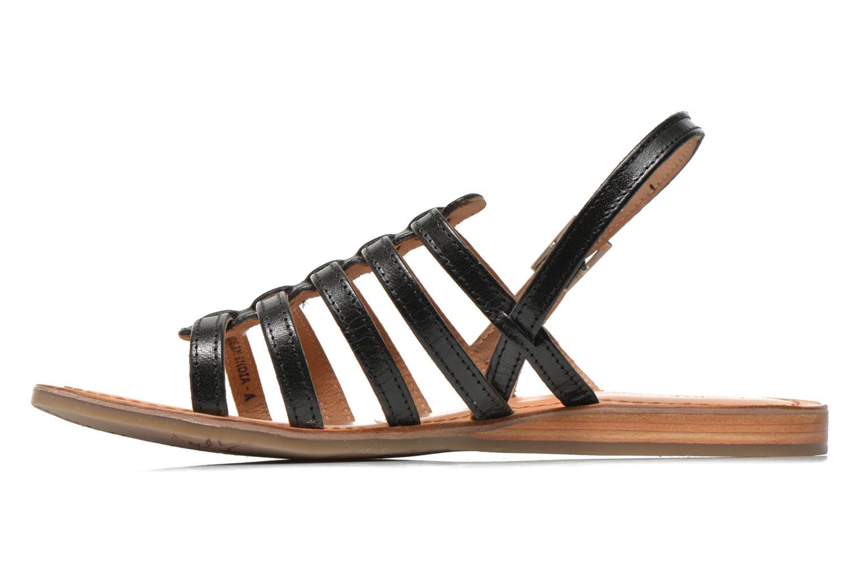 Sandals Les Tropéziennes par M Belarbi Havapo Black front view