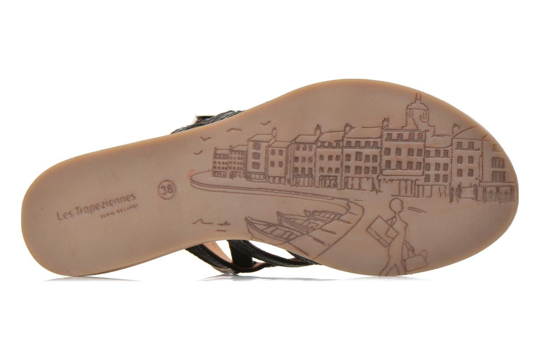 Sandalen Les Tropéziennes par M Belarbi Havapo schwarz ansicht von oben
