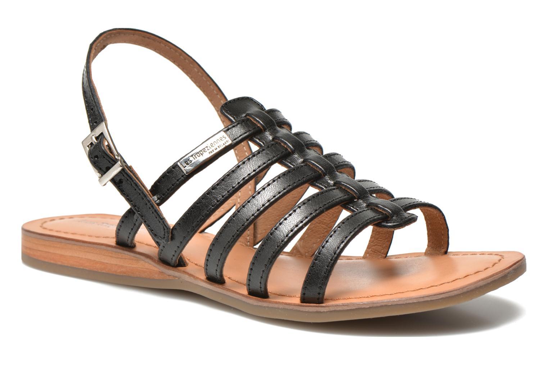 Sandals Les Tropéziennes par M Belarbi Havapo Black detailed view/ Pair view