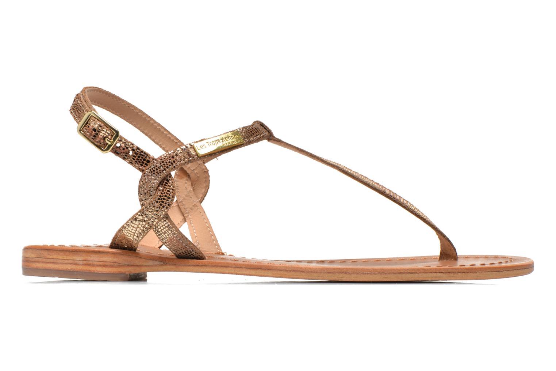 Sandales et nu-pieds Les Tropéziennes par M Belarbi Billy Or et bronze vue derrière