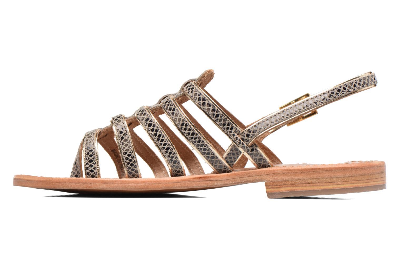 Sandales et nu-pieds Les Tropéziennes par M Belarbi Herbier Gris vue face