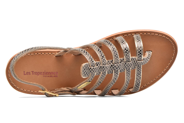 Sandales et nu-pieds Les Tropéziennes par M Belarbi Herbier Gris vue gauche
