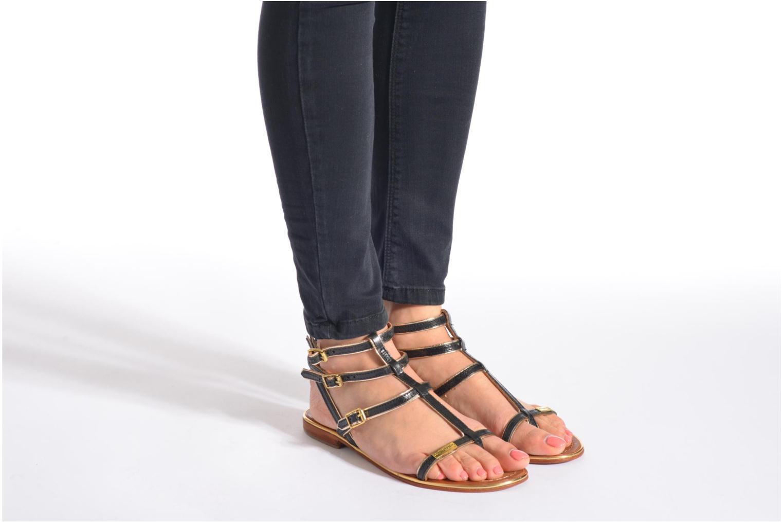 Sandales et nu-pieds Les Tropéziennes par M Belarbi Bristol Marron vue bas / vue portée sac