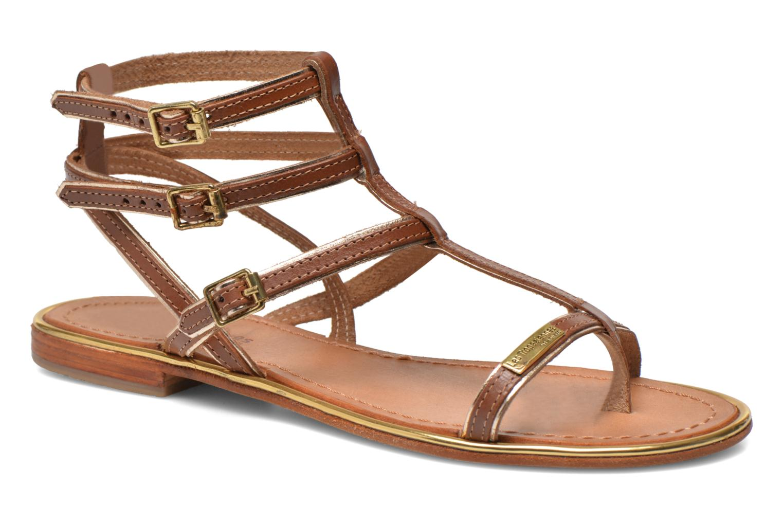 Sandals Les Tropéziennes par M Belarbi Bristol Brown detailed view/ Pair view