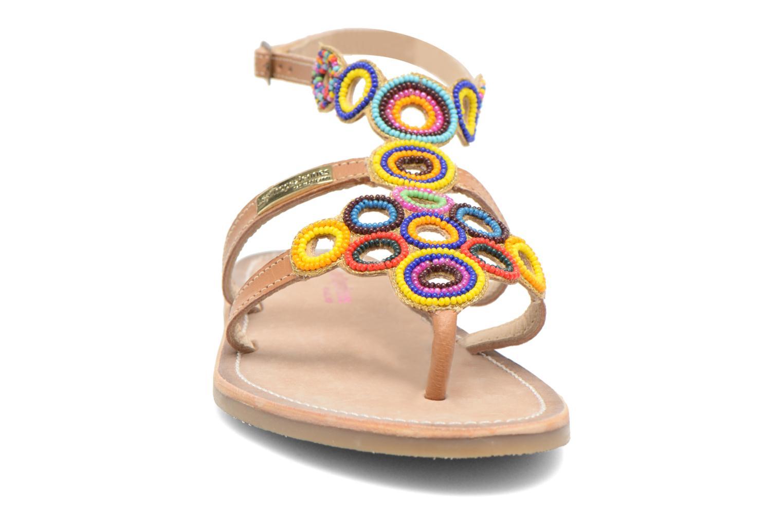 Sandales et nu-pieds Les Tropéziennes par M Belarbi Ofelie Beige vue portées chaussures