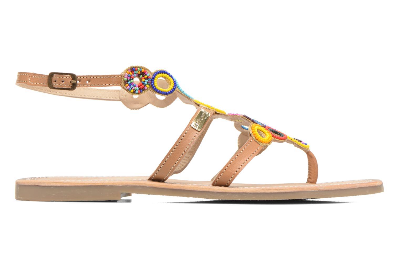 Sandales et nu-pieds Les Tropéziennes par M Belarbi Ofelie Beige vue derrière
