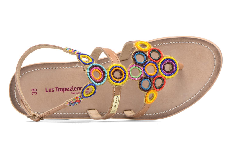 Sandales et nu-pieds Les Tropéziennes par M Belarbi Ofelie Beige vue gauche