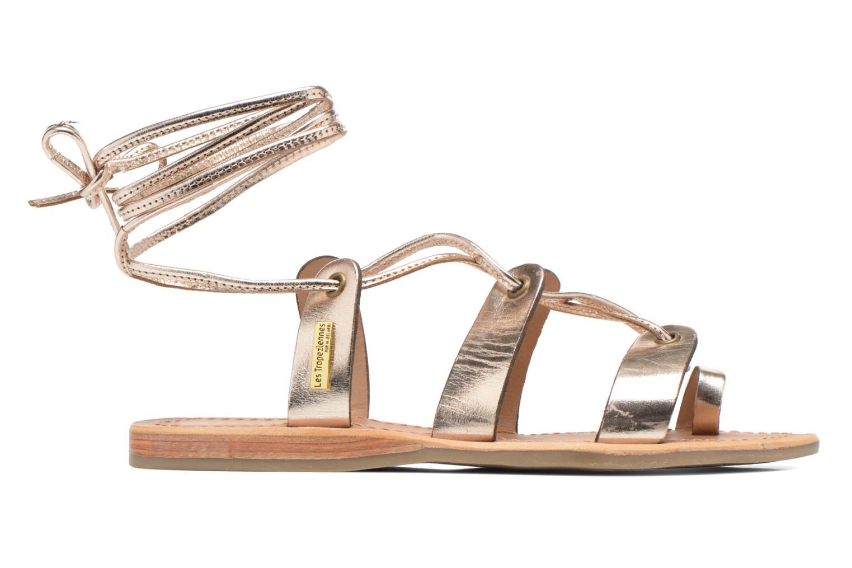 Sandales et nu-pieds Les Tropéziennes par M Belarbi Bird Or et bronze vue derrière