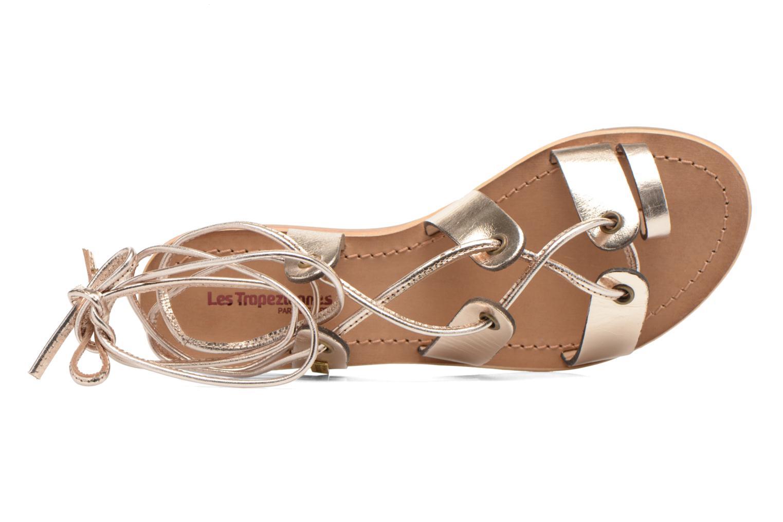 Sandales et nu-pieds Les Tropéziennes par M Belarbi Bird Or et bronze vue gauche