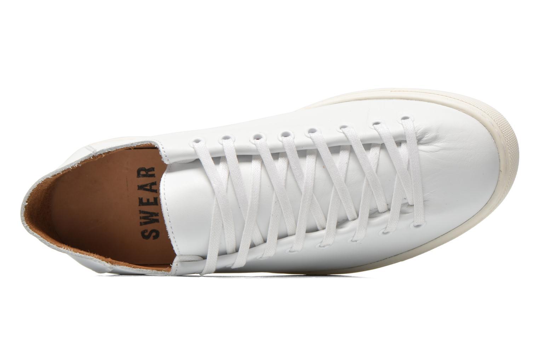 Baskets Swear Addison Blanc vue gauche