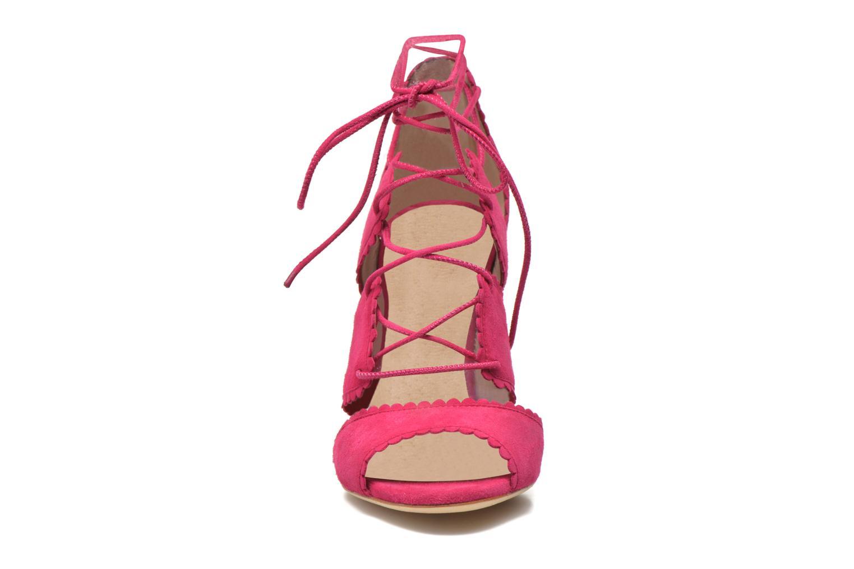Sandalen L.K. Bennett Jerry rosa schuhe getragen