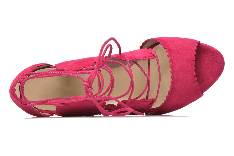 Sandales et nu-pieds L.K. Bennett Jerry Rose vue gauche