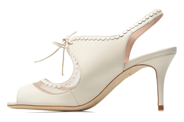 Sandales et nu-pieds L.K. Bennett Lois 2 Blanc vue face