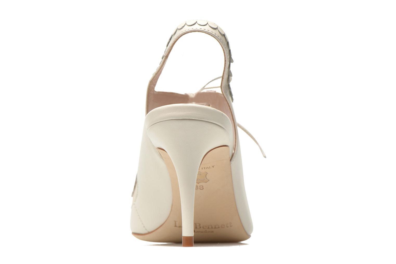 Sandales et nu-pieds L.K. Bennett Lois 2 Blanc vue droite