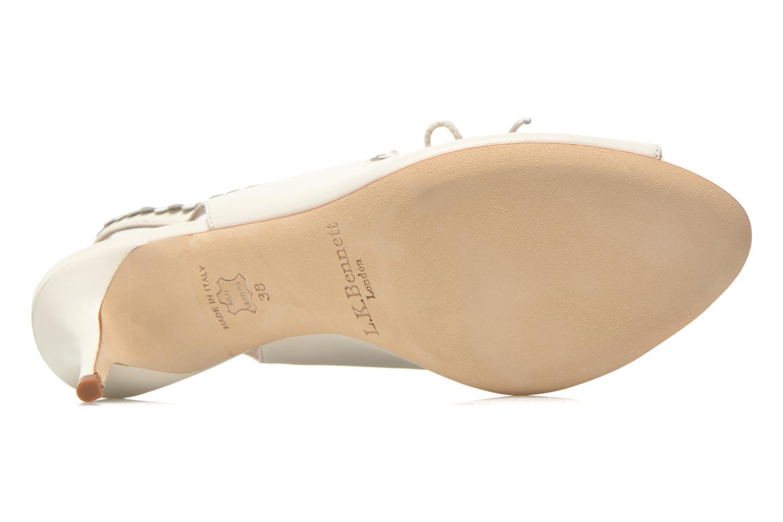 Sandales et nu-pieds L.K. Bennett Lois 2 Blanc vue haut