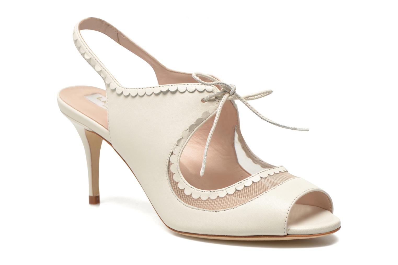 Sandales et nu-pieds L.K. Bennett Lois 2 Blanc vue détail/paire