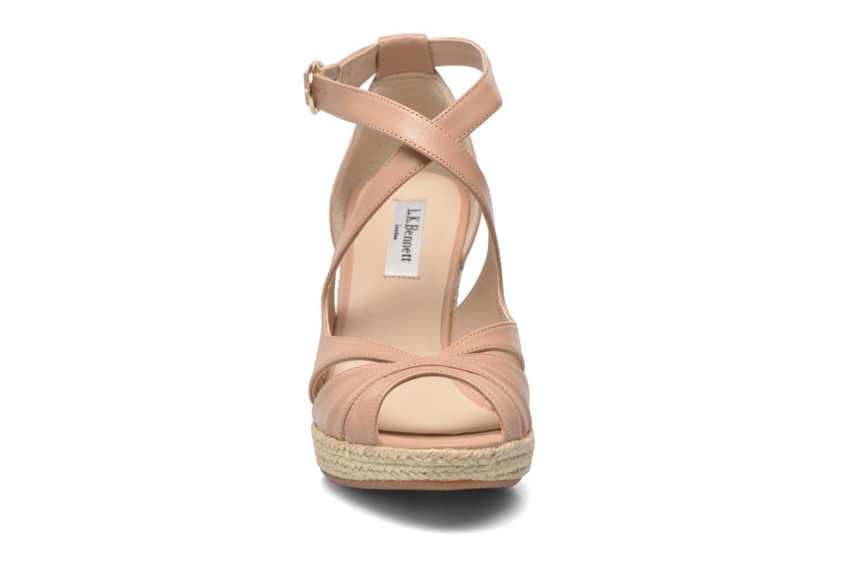 Sandals L.K. Bennett Mags Beige model view