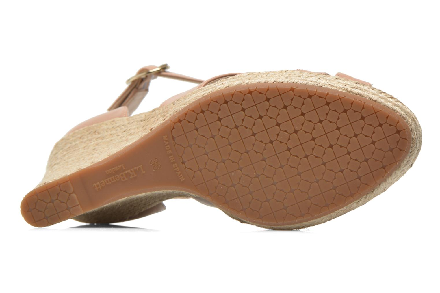 Sandals L.K. Bennett Mags Beige view from above
