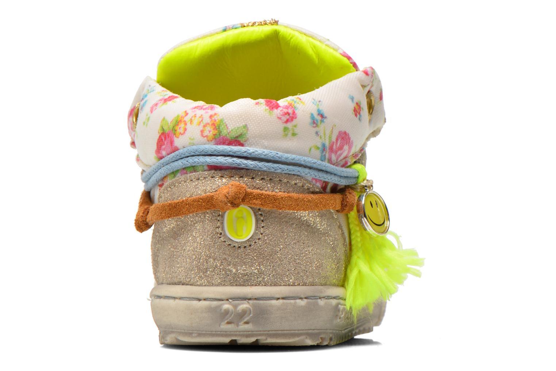 Baskets Shoesme Extreme Flex Beige vue droite