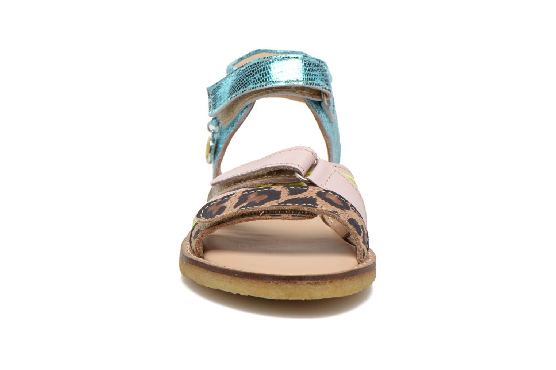 Sandales et nu-pieds Shoesme Meisjes Sandaal Leren Zool Multicolore vue portées chaussures