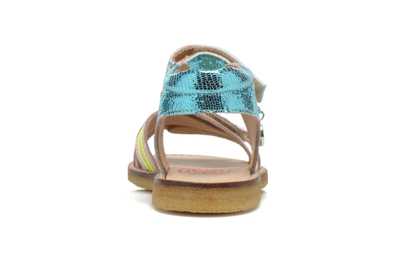 Sandales et nu-pieds Shoesme Meisjes Sandaal Leren Zool Multicolore vue droite