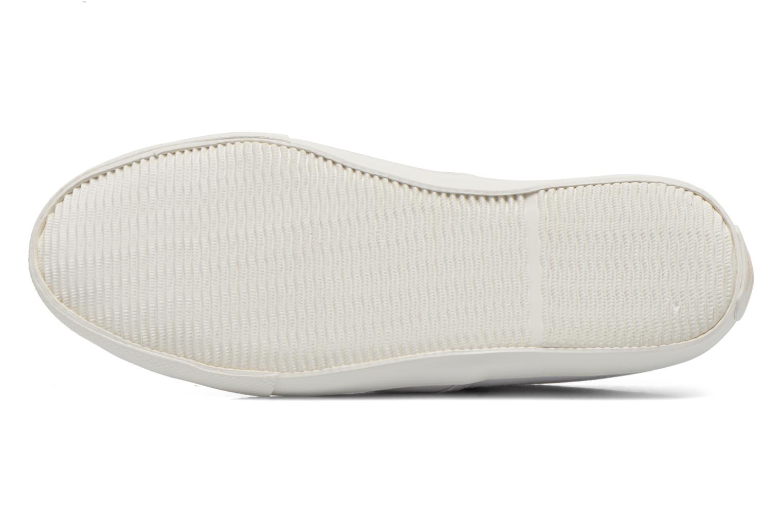 Baskets Pepe jeans Soho Draw Blanc vue haut