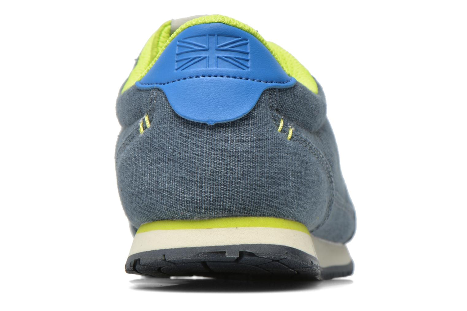 Trainers Pepe jeans Sydney Canvas Blue view from the right
