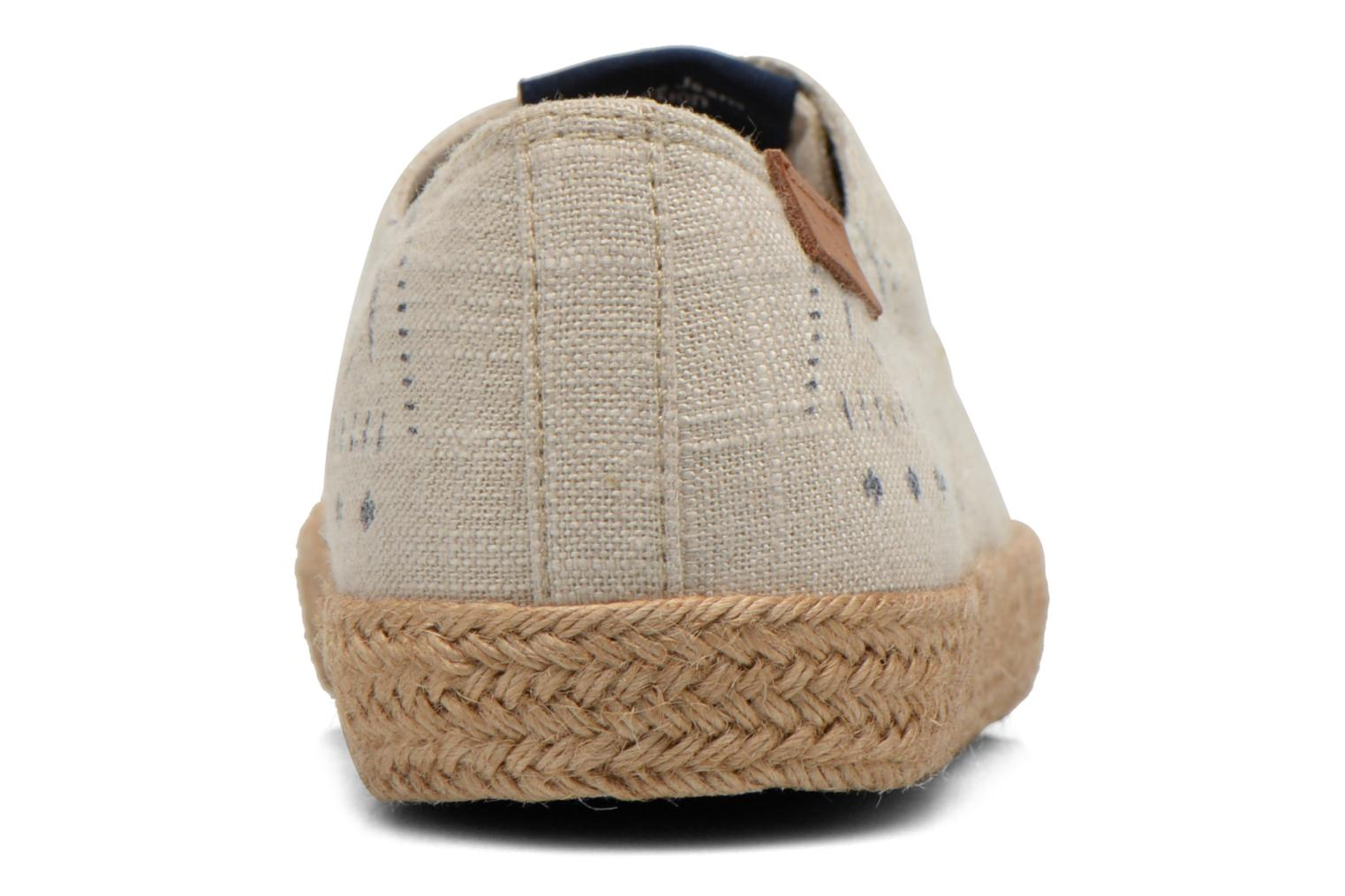 Espadrilles Pepe jeans &Bahati Abat Junior Beige view from the right