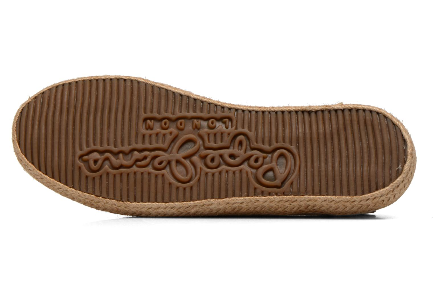 Espadrilles Pepe jeans &Bahati Abat Junior Beige view from above