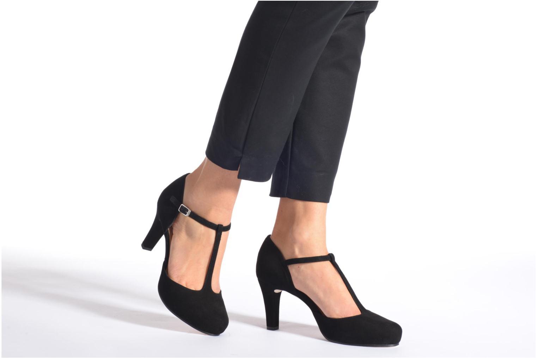 Zapatos de tacón Unisa Netan Negro vista de abajo