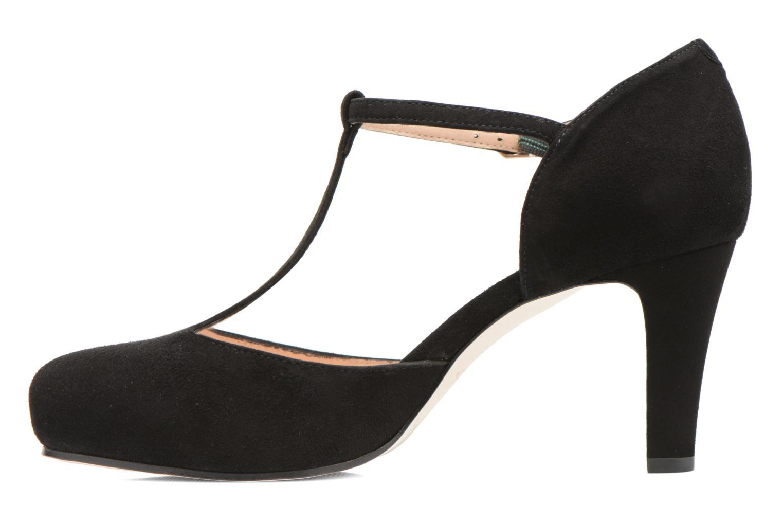 Zapatos de tacón Unisa Netan Negro vista de frente