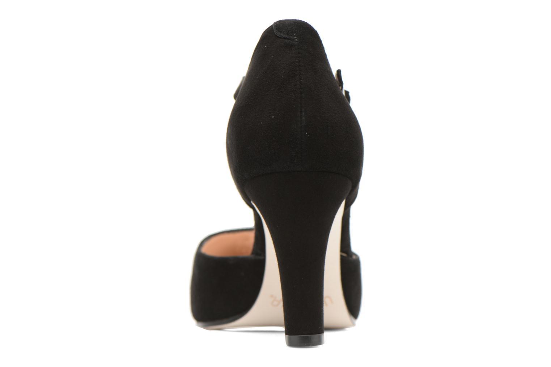 Zapatos de tacón Unisa Netan Negro vista lateral derecha