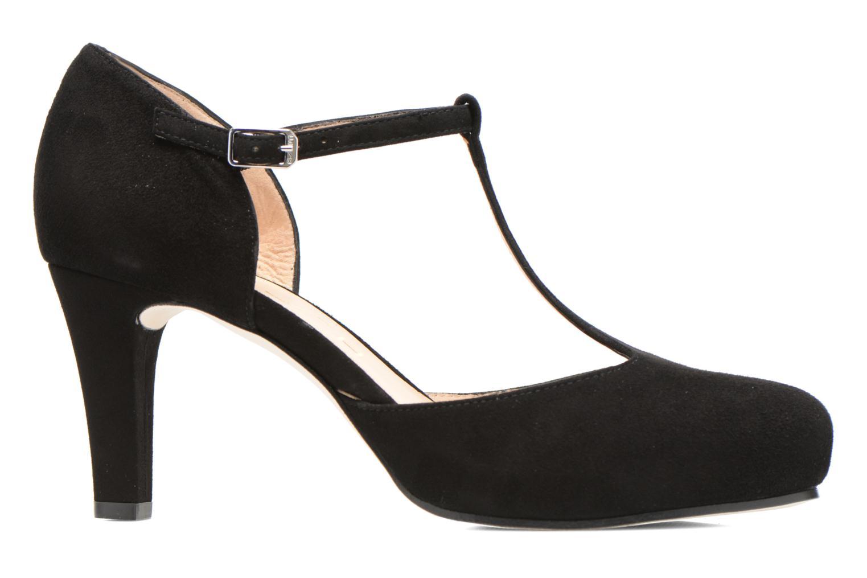Zapatos de tacón Unisa Netan Negro vistra trasera