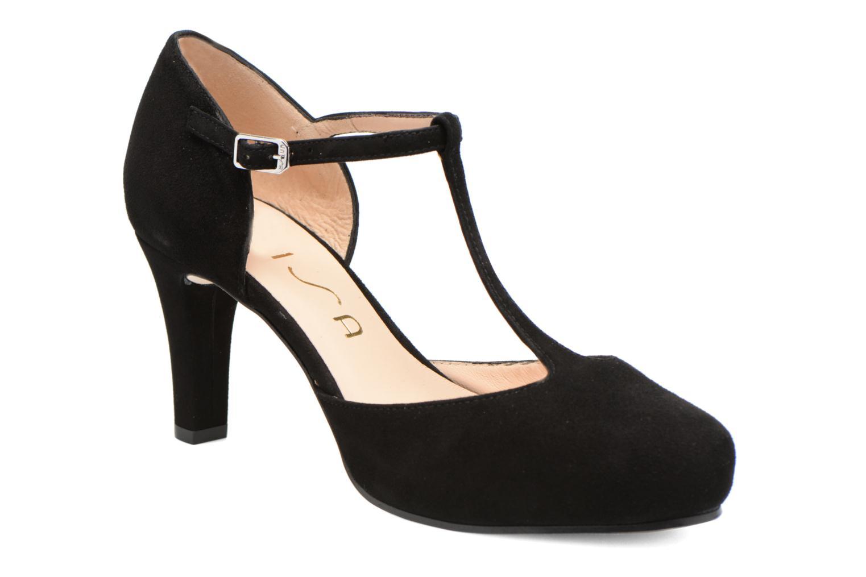 Zapatos de tacón Unisa Netan Negro vista de detalle / par