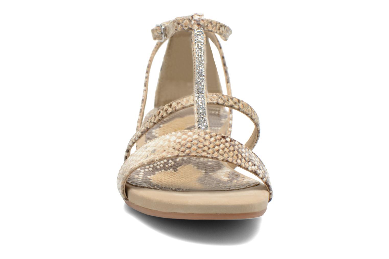 Sandales et nu-pieds Unisa Aniol Beige vue portées chaussures
