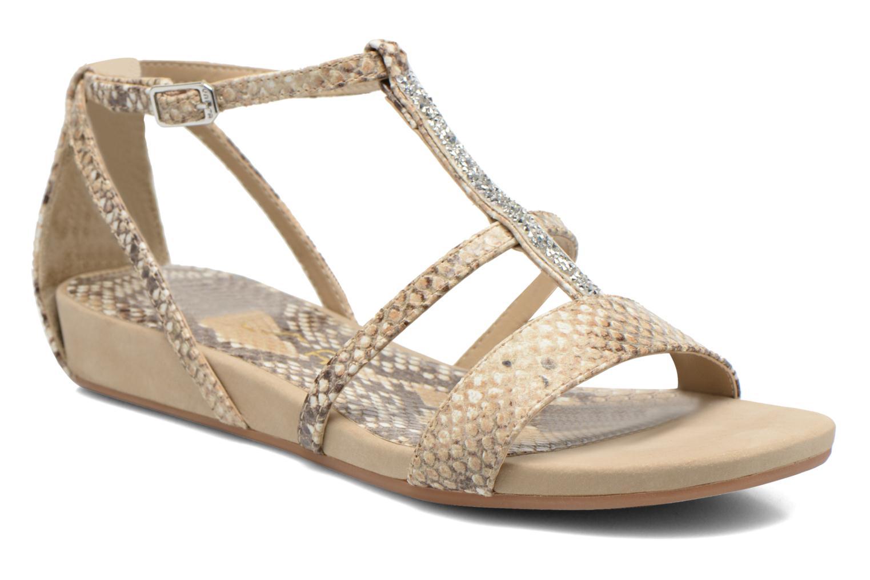 Sandales et nu-pieds Unisa Aniol Beige vue détail/paire
