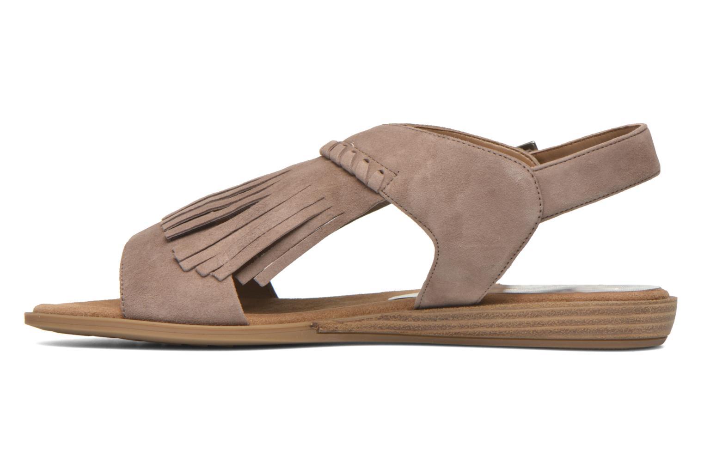 Sandali e scarpe aperte Unisa Amolo Marrone immagine frontale